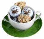Sportiques Cappuccinoсup With Three Balls and Tees