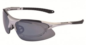 Cratoni Очки гольфиста Air Blade SILVER GLOSSY размер UNI