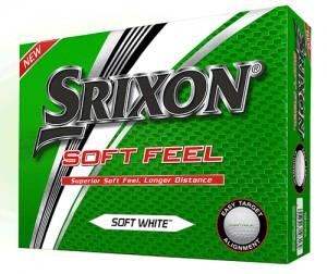 Srixon Soft Feel белые