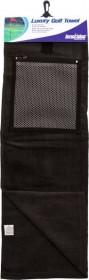 Longridge Полотенце с карманом для мячей Black
